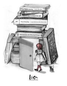 Inspiring picture books, mundo da leitura, forever, love books, livros other world. Resolution: Find the picture to your taste! I Love Books, Books To Read, My Books, World Of Books, Art Drawings Sketches, Pencil Drawings, Pencil Art, Book Nooks, Book Quotes