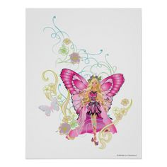 Barbie Butterfly Fairy Posters