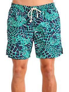 lilly men's swim trunks. love.