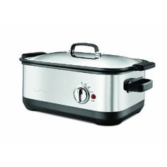 The Mother of All Crockpots:  Breville BSC560XL Stainless-Steel 7-Quart Slow Cooker with EasySear Insert