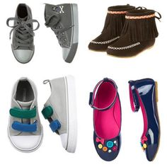Back to school shoes from Gymboree
