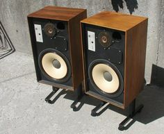 JBL L88 speakers (from the original John B. Lansing company)  put out BASS like nothing else back in the day.