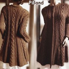 Ireland's Aran Isles inspiration - modern cabled sweaters ________________________________________ Cable Knit Coat Sweater Knitting Pattern Aran by PillandPattern via Etsy ________________________________________ Merino Wool Sweater, Cardigan Sweaters For Women, Sweater Coats, Cable Knit Sweaters, Long Cardigan, Sweater Jacket, Knitted Coat Pattern, Sweater Knitting Patterns, Coat Patterns
