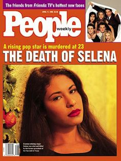 People Magazine - Cover Story - The Death of Selena - A rising pop star is murdered at 23 Selena Quintanilla Perez, Selena Grammy, Selena Selena, Selena And Chris, She Song, People Magazine, Former President, New Face, Musica