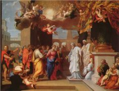The Marriage of the Virgin - Jacques Stella