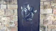 """New street art by """"guerrilla artist"""" Banksy is removed within hours of appearing in Bristol"""