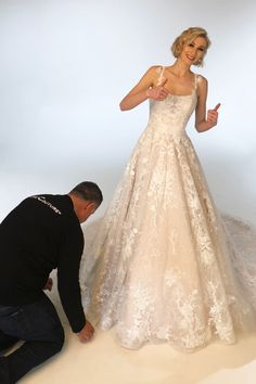 Are you ready to find your dream wedding dress? The wait is over! We are excited to have our latest collection available now at a full service bridal store near you. Visit our website for more information and to view other styles. #weddingideas #weddinggowns #weddingguide #weddingtheme #weddingtips #wedding Dream Wedding Dresses, Wedding Gowns, Welcome To Our Wedding, Bridal Stores, Mermaid Gown, Dress Silhouette, Couture Collection, Wedding Tips, Weddingideas