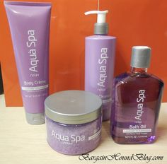 Review and Giveaway ~ Enter to win $40 in Aqua Spa bath products! Ends 5/5.