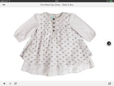Belle and boo dress