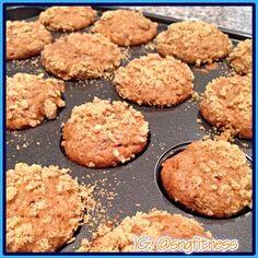 Protein apple muffin