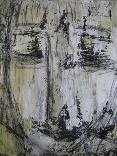 o.t. arcyl auf leinwand, 50x70cm