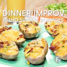 Idaho Sunrise Potatoes
