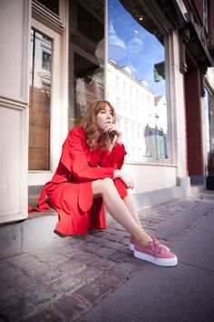 BLUSH RASPBERRY | SUMMER OUTFIT by Maria Jernov