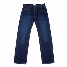 Hawksmill Denim Hawksmill Denim - Dark Blue Loose Tapered Organic Jeans: Hawksmill's Loose Tapered Fit is a classic 5 pocket relaxed fit jean with tapered leg and mid length rise. This is the dark washed version of their exclusive 14oz Organic cotton denim.