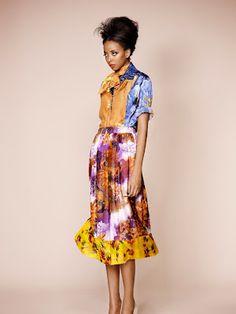 Nigerian designer Duro Olowu - Spring 2013