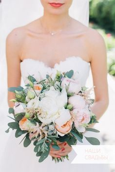 bridal bouquet by Flowers Cafe