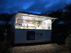 SolarKiosk, quiosque solar ilumina regiões remotas da Etiópia