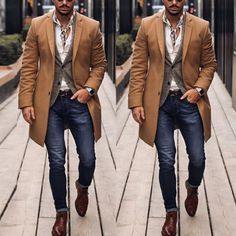 Mens Casual Suits, Mens Fashion Suits, Classy Mens Fashion, Mode Masculine, Style Costume Homme, Business Casual Outfits, Men's Business Fashion, Business Casual Black Men, Stylish Men