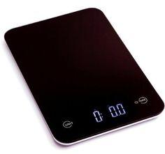 Ozeri Touch Professional Digital Kitchen Scale (12 lbs Edition), Tempered Glass in Elegant Black #ozeri #ozerikitchen