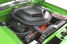 Hemi Cuda - Engine Compartment