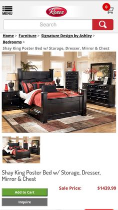 Signature Design By Ashley Maribel 6 Drawer Dresser With Mirror |  Apartment: Bedroom | Pinterest | Apartment Bedrooms, Dresser And Drawers