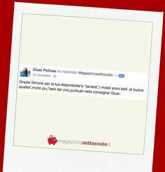 Ti piacerebbe ricevere i #mobili che cercavi da tempo comodamente a #casa senza intoppi e vivendo la stessa esperienza di Giusi?  Sfoglia il #Catalogo sul sito di  #magazzinosottocosto e scrivici un messaggio in privato!