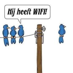 Te grappig... :-) #wifi ...