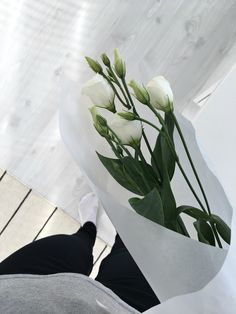Hannas Home / Currently on my mind + RAUMAblogs / white flowers