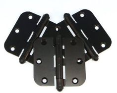 The Original Adjustable Door Hinge IORB3B18 Interior Hinges, 3-Count by The Original Adjustable Door Hinge. $14.59. From the Manufacturer                3 Oil Rubbed Bronze Interior Original Adjustable Door Hinges. Package includes replacement screws. For interior doors with 3 hinges. Save 14% Off!