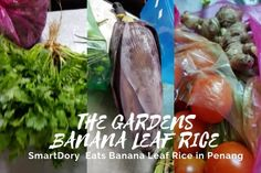 The Garden Banana Leaf Rice Penang Coriander Seeds, Fennel Seeds, Banana Leaf Rice, Bitter Gourd Fry, Sources Of Soluble Fiber, Parboiled Rice, Banana Blossom, Moringa Leaves, Masala Spice