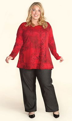Tops - PASTICHE LONG SLEEVE TUNIC