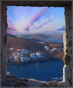 From the top of Astypalea's castle greece Beautiful World, Beautiful Places, Amazing Places, Places To Travel, Places To Visit, Travel Destinations, Santorini Greece, Travel Images, Travel Photos