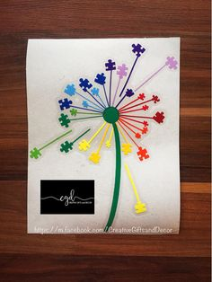 Hey, I found this really awesome Etsy listing at https://www.etsy.com/listing/535764011/autism-puzzle-piece-dandelion-car-decal