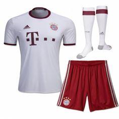 89e8adc1c1 Camisetas del Bayern Munich para Niños Third 2016 2017 - Camisetas de  Futbol Baratas