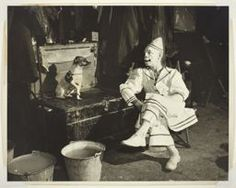 "Kenneth Heilbron American, 1903–1997, Ringling Brothers Barnum Bailey Circus-Clown ""Charlie Bell and Trixie""-Chicago"