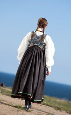 Traditional Dresses, Norway, Scandinavian, Special Occasion, Vest, Costumes, Folklore, 19th Century, Rabbit