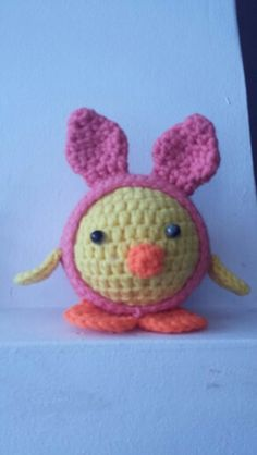 Easter bunny - chicken