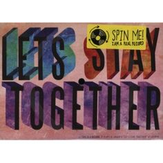 AL-GREEN-LETS-STAY-TOGETHER-MUSIC-POSTCARD-FLEXIDISC