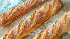 How To Make Bread, Food To Make, French Baguette, Cooking Time, Hot Dog Buns, Bakery, Easy Meals, Food And Drink, Homemade