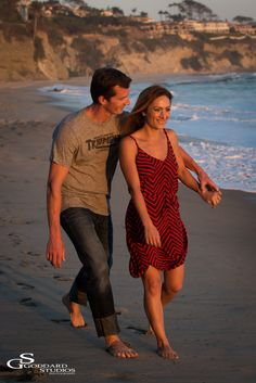 Engagement Photography ~ David and Nicole's session in Laguna Beach