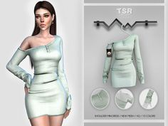 Sims 4 Mods Clothes, Sims 4 Clothing, Sims Mods, Sims4 Clothes, Sims 4 Dresses, Sims 4 Custom Content, Sims Cc, Outfits For Teens, Outfit Sets