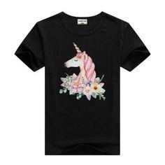 Unicorn I Femmes Manches Longues T-Shirt Rainbow Arc-en-ciel Fairies The Last Licorne