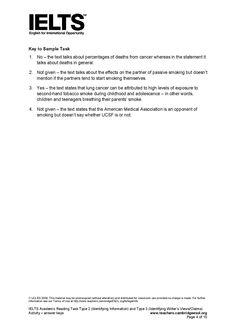 Ielts general training essay types