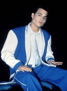 Johnny Depp, Cry Baby set (1990)