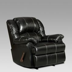 Chelsea Home Furniture Ambrose Landon Leather Rocker Recliner - 2001-TB