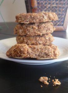 Fart Cookies. www.burntapple.com #fart #cookies #oatmeal