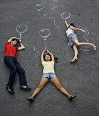 """Chalk it Up! 10 Whimsical & Creative Chalk Photo """"Props"""""""