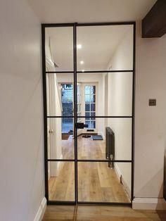 Metal Framed Doors | Black Glass Door | Door Dividers