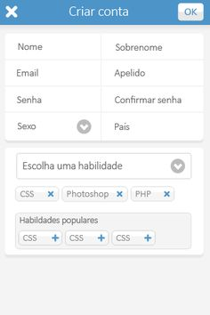 Design of an app for a freelancing company in 2014