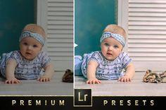 Newborn Baby Lightroom Collection by PhotoSpirit on @creativemarket